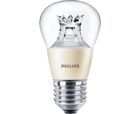 BOMBILLA MASTER LED esférica PHILIPS REGULABLE 6W
