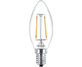 PHILIPS LED E14 CLASSIC FILAMENTOS 2.3W