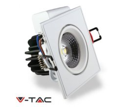 DOWNLIGHT LED COB 3W CUADRADO FRÍO