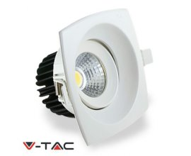 DOWNLIGHT LED COB 8W CUADRADO CÁLIDO