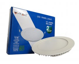 PANEL LED 22W Ø238mm LUZ FRIA DOWNLIGHT