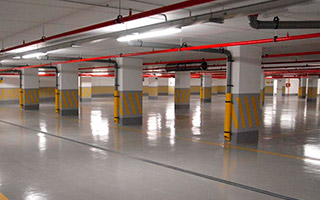 Iluminación LED en parkings